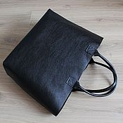 Сумки и аксессуары handmade. Livemaster - original item Big leather bag (big leather bag). Handmade.
