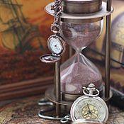 Открытки ручной работы. Ярмарка Мастеров - ручная работа почтовая открытка часы. Handmade.