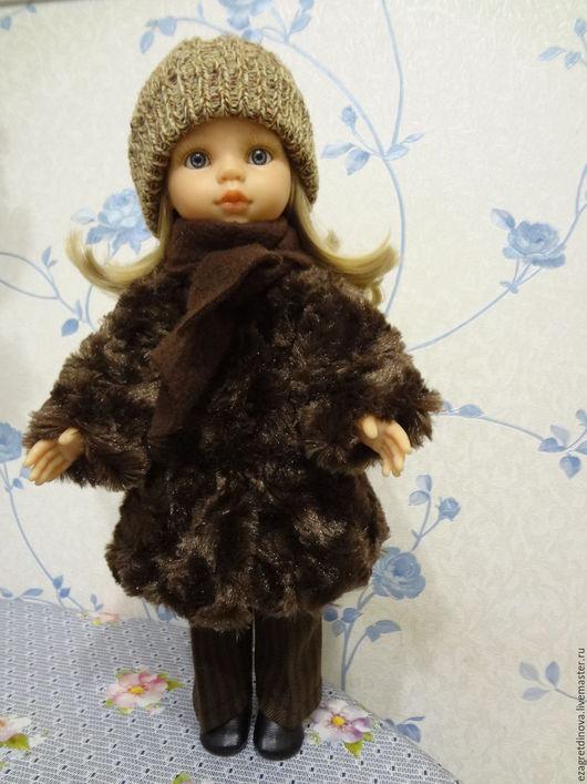 Одежда для кукол ручной работы. Ярмарка Мастеров - ручная работа. Купить РАСПРОДАЖА 1150рублей Шуба, шапка, шарф для кукол Paola Reina 32-34 см. Handmade.