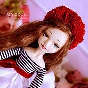 Куклы и пупсы ручной работы. Ярмарка Мастеров - ручная работа Каролин подвижная кукла. Handmade.