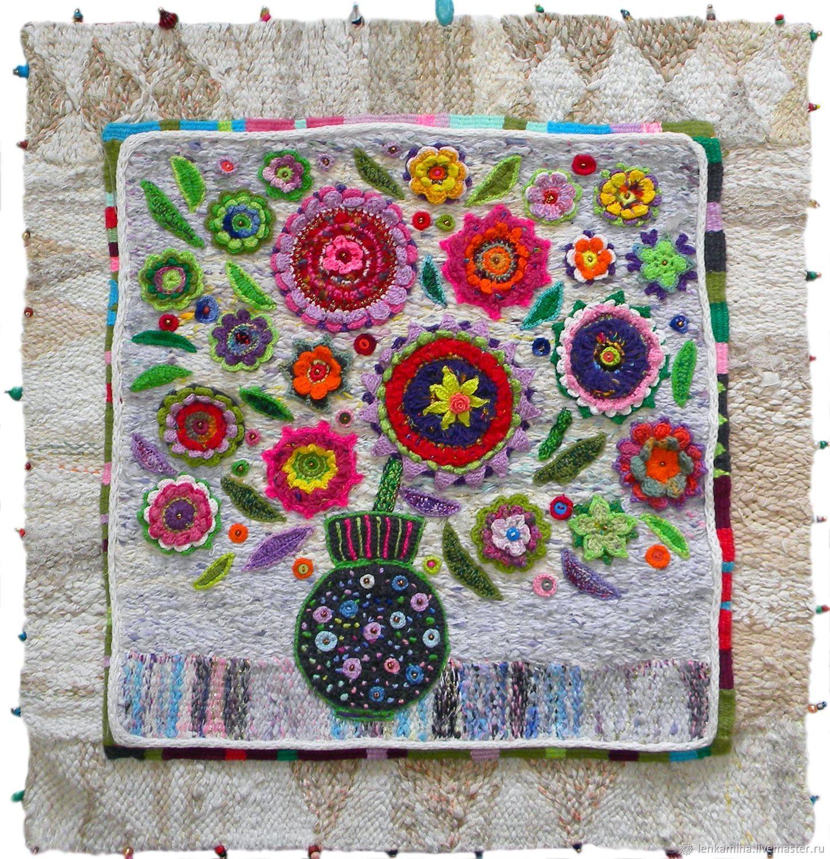 Flower Paintings handmade. Livemaster - handmade. Buy BOUQUET.Handmade jewelry, panels, panel as a gift