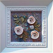 handmade. Livemaster - original item Miniature SEA of ROSES. Handmade.