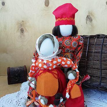 Куклы и игрушки ручной работы. Ярмарка Мастеров - ручная работа Семейный оберег Семья. Handmade.