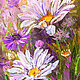 """Картины цветов ручной работы. Ярмарка Мастеров - ручная работа. Купить Картина ромашки """"Мечты о Лете"""" (холст, масло). Handmade."""