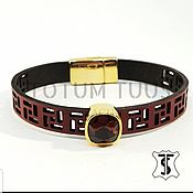 Украшения handmade. Livemaster - original item Designer leather bracelet Art:18000069. Handmade.