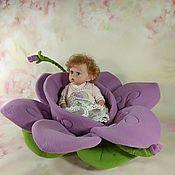 Куклы и игрушки manualidades. Livemaster - hecho a mano La cuna - la casita de la Flor. Handmade.