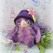 Куклы и игрушки ручной работы. Ярмарка Мастеров - ручная работа Зайка Флора Игрушка Тедди. Handmade.