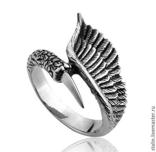 """Кольца ручной работы. Ярмарка Мастеров - ручная работа. Купить Кольцо """"Коготь орла"""" 01-39 из Нержавеющей Стали. Handmade."""