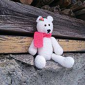 """Куклы и игрушки ручной работы. Ярмарка Мастеров - ручная работа Мишка """"Белоснежка"""". Handmade."""