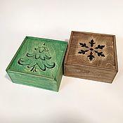 Упаковочная коробка ручной работы. Ярмарка Мастеров - ручная работа Ящик пенал для подарков. Handmade.