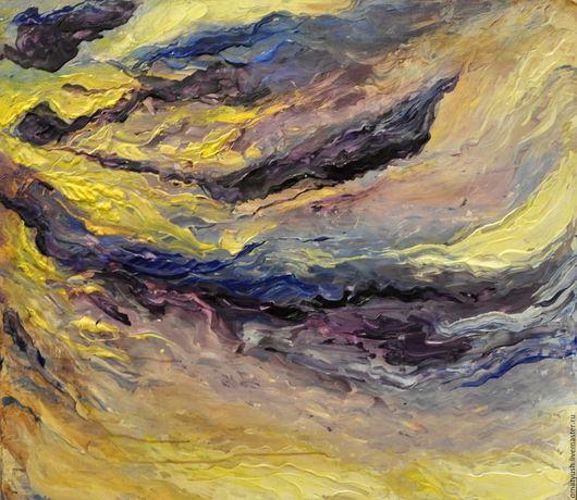 Абстракция ручной работы. Ярмарка Мастеров - ручная работа. Купить Бушующие эмоции. Handmade. Абстракция, холст, акрил, яркие цвета