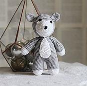 Куклы и игрушки handmade. Livemaster - original item Dog Husky. Handmade.