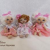 Куклы и игрушки handmade. Livemaster - original item textile dolls angels Spring. Handmade.