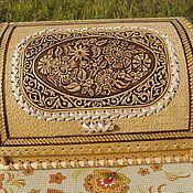 handmade. Livemaster - original item Birch bark bread box