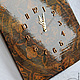"""Часы для дома ручной работы. Большие часы """"Монументальная классика"""". Александра Балашова. Ярмарка Мастеров. Деревянные часы, кракелюр"""
