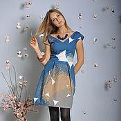 """Одежда ручной работы. Ярмарка Мастеров - ручная работа Платье """"Небо"""". Handmade."""