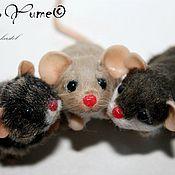 Куклы и игрушки ручной работы. Ярмарка Мастеров - ручная работа Миниатюрные крысоньки. Handmade.