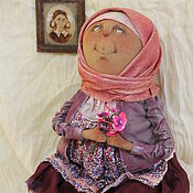 Куклы и игрушки ручной работы. Ярмарка Мастеров - ручная работа Баба Аня...Аннушка...Анютка.... Handmade.
