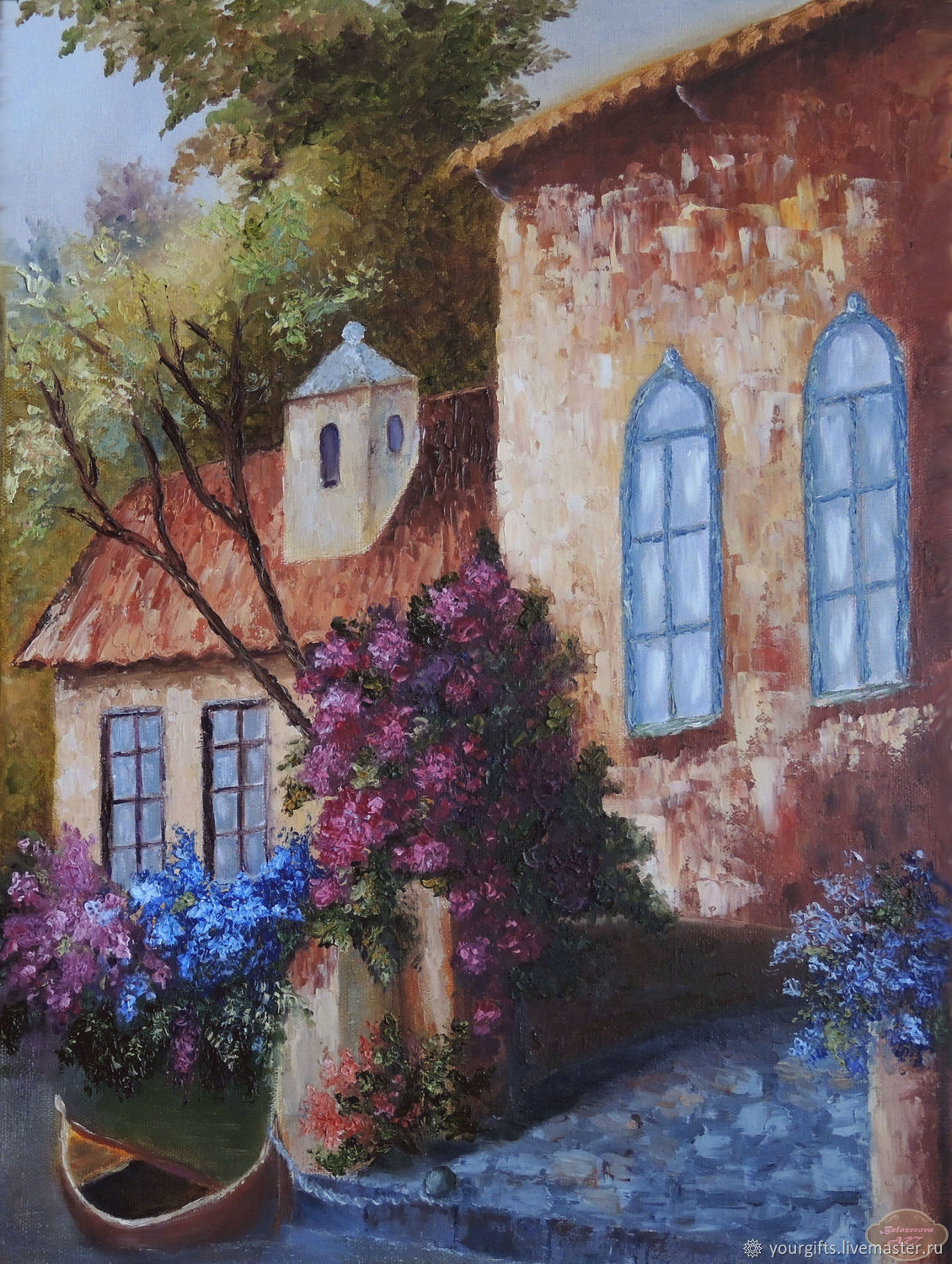 """""""Sunny day"""" oil Painting, Pictures, Moscow,  Фото №1"""