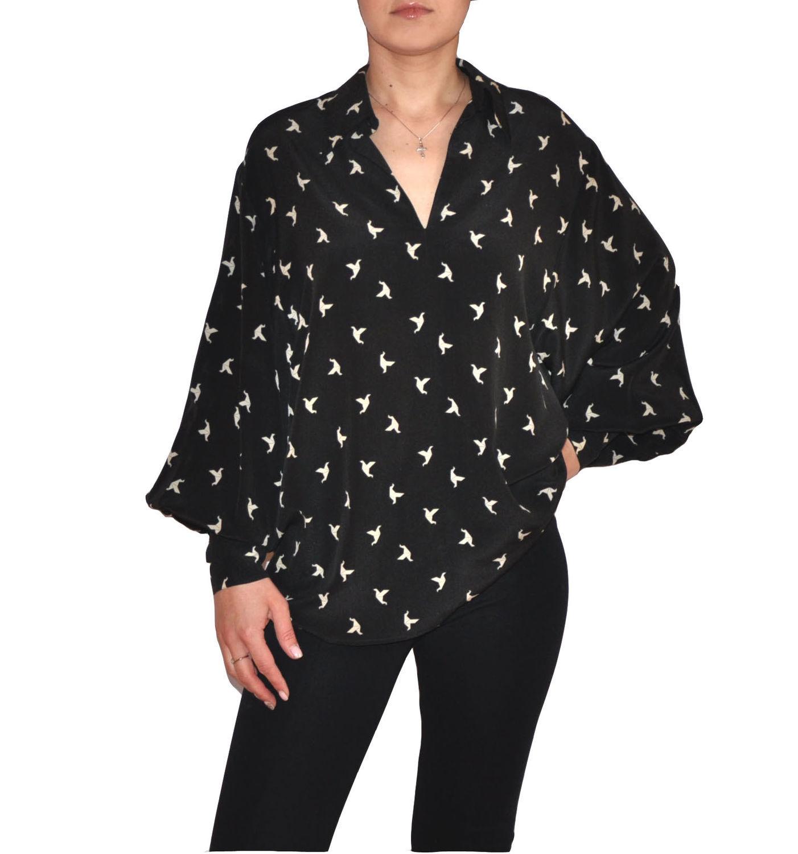 bda4484bef7 Блузки ручной работы. Ярмарка Мастеров - ручная работа. Купить Шелковая  блузка. Handmade.
