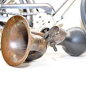 Винтаж ручной работы. Ярмарка Мастеров - ручная работа Велосипедный клаксон гудок с патиной, старинный, винтажный. Handmade.