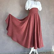 Одежда handmade. Livemaster - original item Sun skirt with corset belt. Handmade.