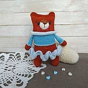 Куклы и игрушки handmade. Livemaster - original item Bear crocheted bear. Handmade.