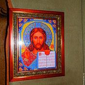 Картины и панно ручной работы. Ярмарка Мастеров - ручная работа икона Иисуса Христа. Handmade.