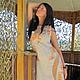 """Платья ручной работы. Ярмарка Мастеров - ручная работа. Купить Платье """"Полдень"""". Handmade. Платье, платье изо льна"""