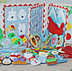 developing book CHRISTMAS MIRACLE. Cubes and books. Children's mood. My Livemaster. Фото №6