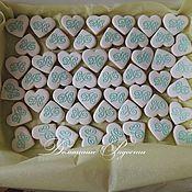 Сувениры и подарки ручной работы. Ярмарка Мастеров - ручная работа Свадебные пряники с инициалами. Handmade.