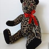 Куклы и игрушки ручной работы. Ярмарка Мастеров - ручная работа мишка-леопард. Handmade.