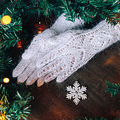 Аксессуары handmade. Livemaster - original item Gloves