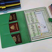 Канцелярские товары handmade. Livemaster - original item Organizer for A4 documents. Handmade.