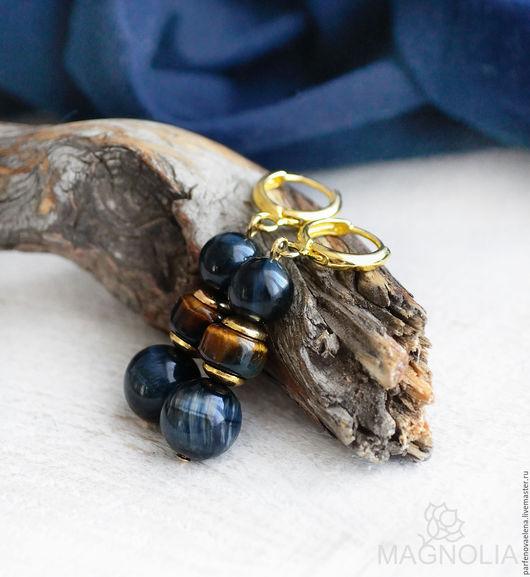 Серьги ручной работы. Ярмарка Мастеров - ручная работа. Купить Серьги «Ночная хищница». Handmade. Серьги, серьги в подарок, magnolia