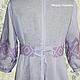 Льняное платье с ручной вышивкой Пражское 2.\r\n\r\nТворческое ателье Modne-Narodne. Модная одежда с ручной вышивкой.
