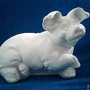 Мягкие игрушки ручной работы. Ярмарка Мастеров - ручная работа Копилка Свинка. Handmade.