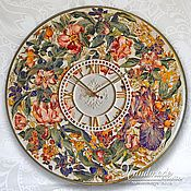 Для дома и интерьера handmade. Livemaster - original item Wall Clock -