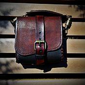 Поясная сумка ручной работы. Ярмарка Мастеров - ручная работа Сумка на пояс. Handmade.