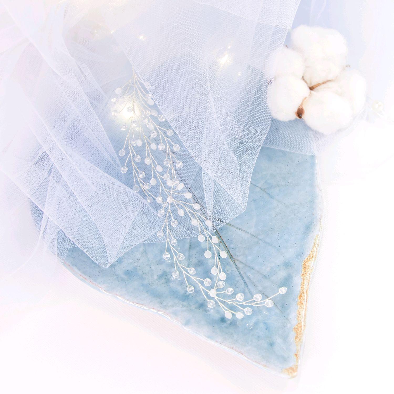 Свадебное украшение для волос / Венок / веточки / для невесты, Украшения, Москва,  Фото №1