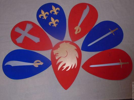 Подарки для мужчин, ручной работы. Ярмарка Мастеров - ручная работа. Купить Детский деревянный щит. Handmade. Детское оружие, shield