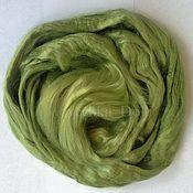 Материалы для творчества handmade. Livemaster - original item Viscose felting, 20 oz., Green Apple. Handmade.