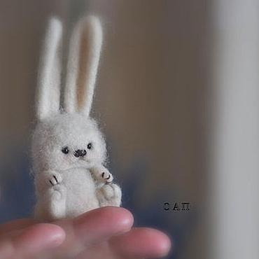 Куклы и игрушки ручной работы. Ярмарка Мастеров - ручная работа Одуванчик-парашютик. Handmade.
