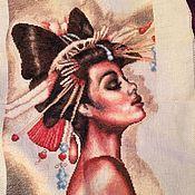 Картины и панно ручной работы. Ярмарка Мастеров - <strong>вышивка</strong> ручная работа Наоми. Handmade.