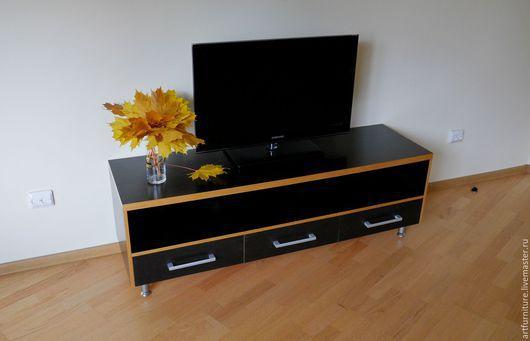 Мебель ручной работы. Ярмарка Мастеров - ручная работа. Купить Тумба под ТВ - тумба под телевизор с выдвижными ящиками. Handmade.