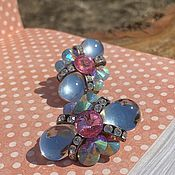 Винтаж handmade. Livemaster - original item Attractive Vintage Earrings. Luntiki.. Handmade.