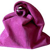 """Сумки и аксессуары ручной работы. Ярмарка Мастеров - ручная работа """"Розовая магия"""" сумка-мешок замшевая. Handmade."""