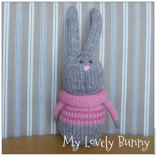 Игрушки животные, ручной работы. Ярмарка Мастеров - ручная работа. Купить My Lovely Bunny. Handmade. Подарок девушке
