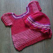 Одежда детская handmade. Livemaster - original item Set-tunic and hat