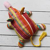 Куклы и игрушки ручной работы. Ярмарка Мастеров - ручная работа Грелка Мышка-перлушка. Handmade.